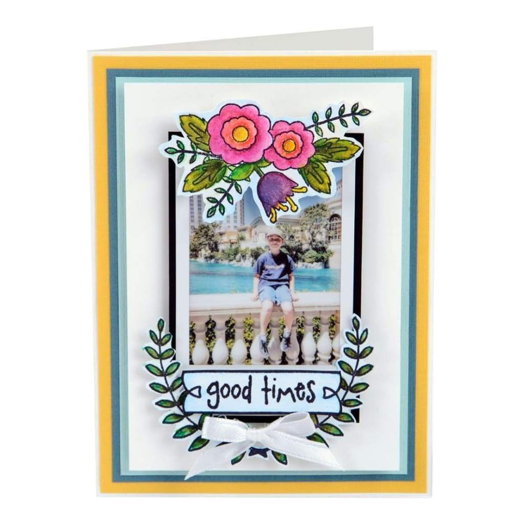Sizzix Clear Stamps Memories