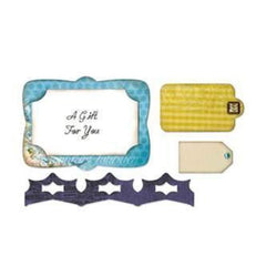 Sizzix - Sizzix Framelits Die Set 4 pack - Gift Card Holder