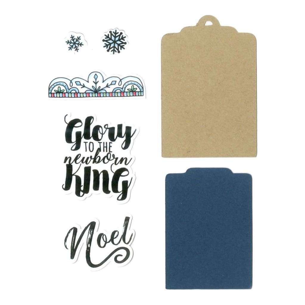 Sizzix Framelits Die & Stamp Set By Katelyn Lizardi Glory To The King