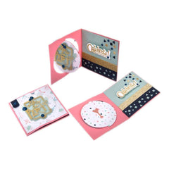 Sizzix Framelits Dies with Stamps By Lindsey Serata Celebrate #2
