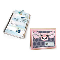 Sizzix Framelits Dies W/Stamps By Katelyn Lizardi 12 pack Health & Fitness Planner