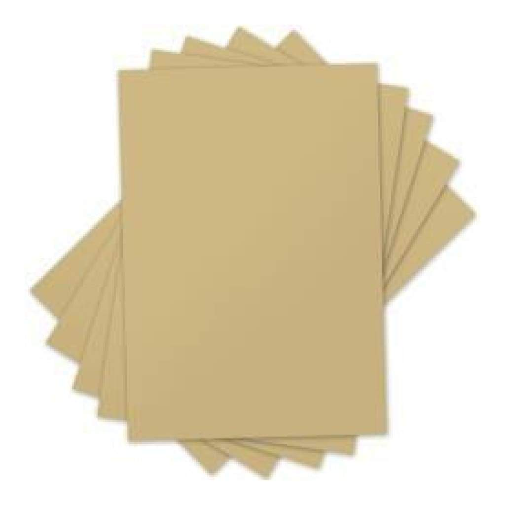 Sizzix Inksheets Transfer Film Sheets 4X6 5/Pkg Gold