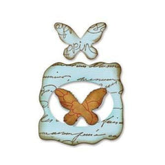 Sizzix - Movers And Shapers Magnetic Die Set 2 pack - Butterflies