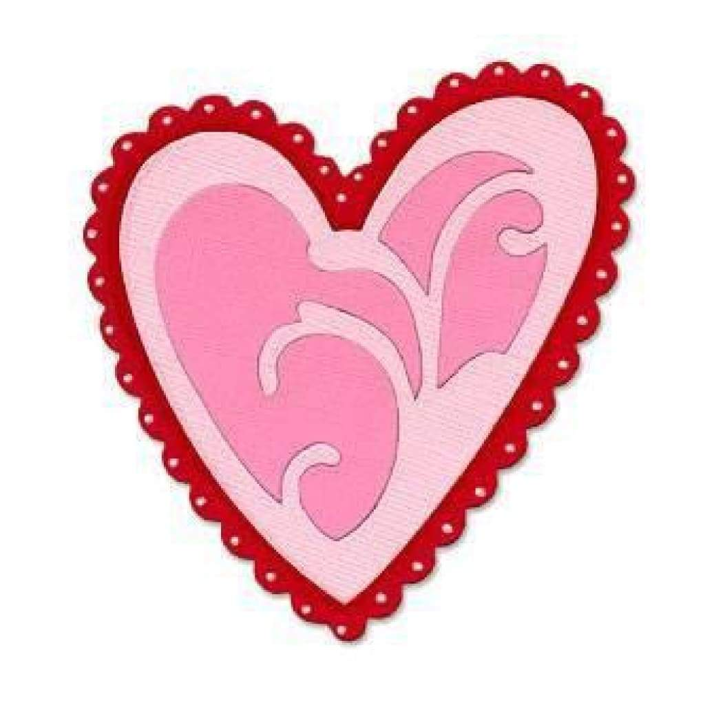 Sizzix - Sizzix Originals Die - Ornamental Heart