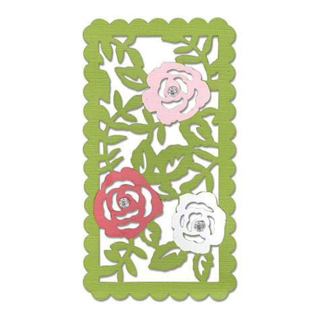 Sizzix Thinlits Die Rose Vines
