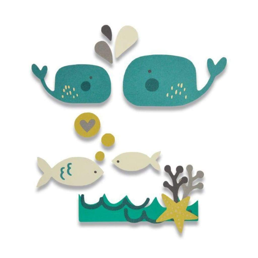 Sizzix Thinlits Die Set 14 pack - Under the Sea