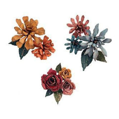 Sizzix Thinlits Dies 15 Pack By Tim Holtz Tiny Tattered Florals