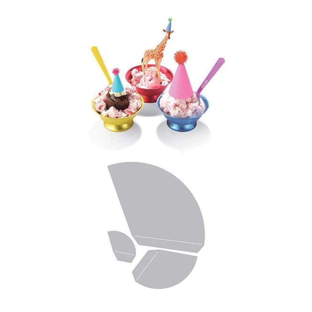 Sizzix Thinlits Dies 3 Pack  By Where Women Cook Tiny Party Hat