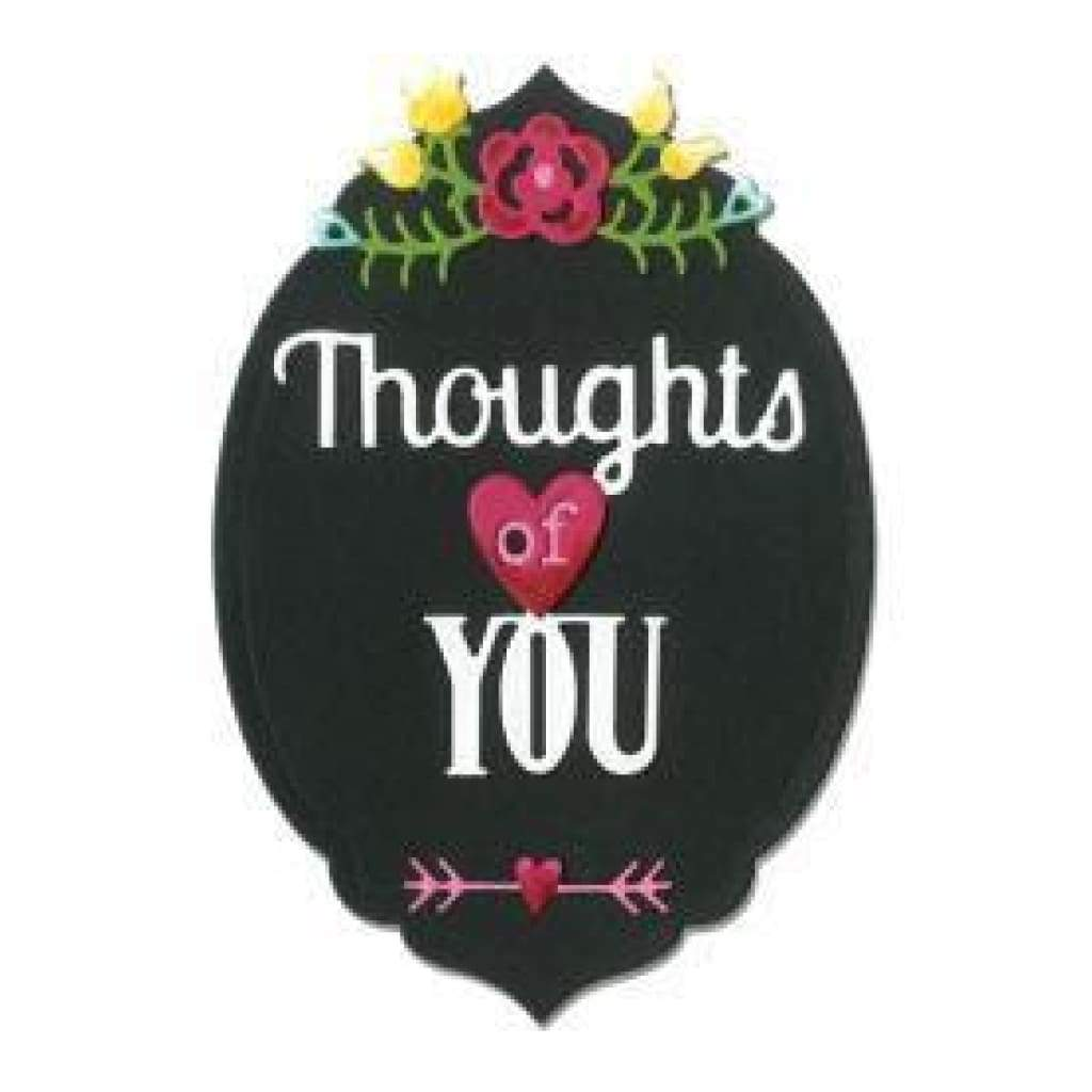 Sizzix Thinlits Dies 5 Pack Thoughts Of You