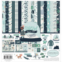 Carta Bella - Collection Kit 12inch X12inch - Snow Much Fun