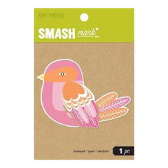Smash Mark - Birdie Oversized Artsy Bookmark
