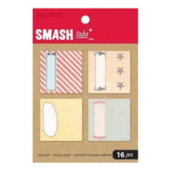 Smash Tabs - Paper Tabs 16 Pieces