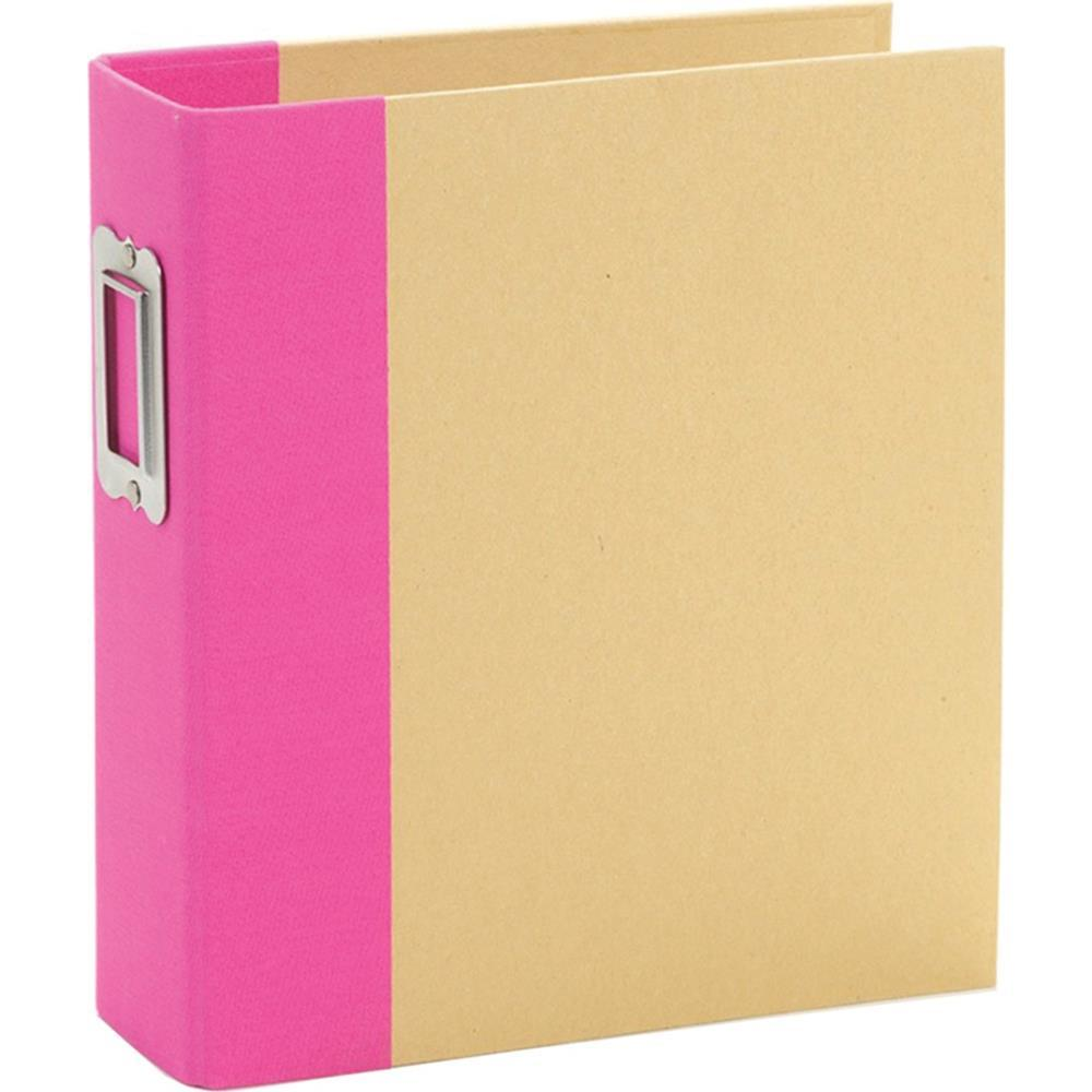 Simple Stories - Sn@p! Binder 6inch X8inch - Pink