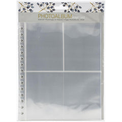 Websters Pages Snap-In Assorted Photo Pages, Small