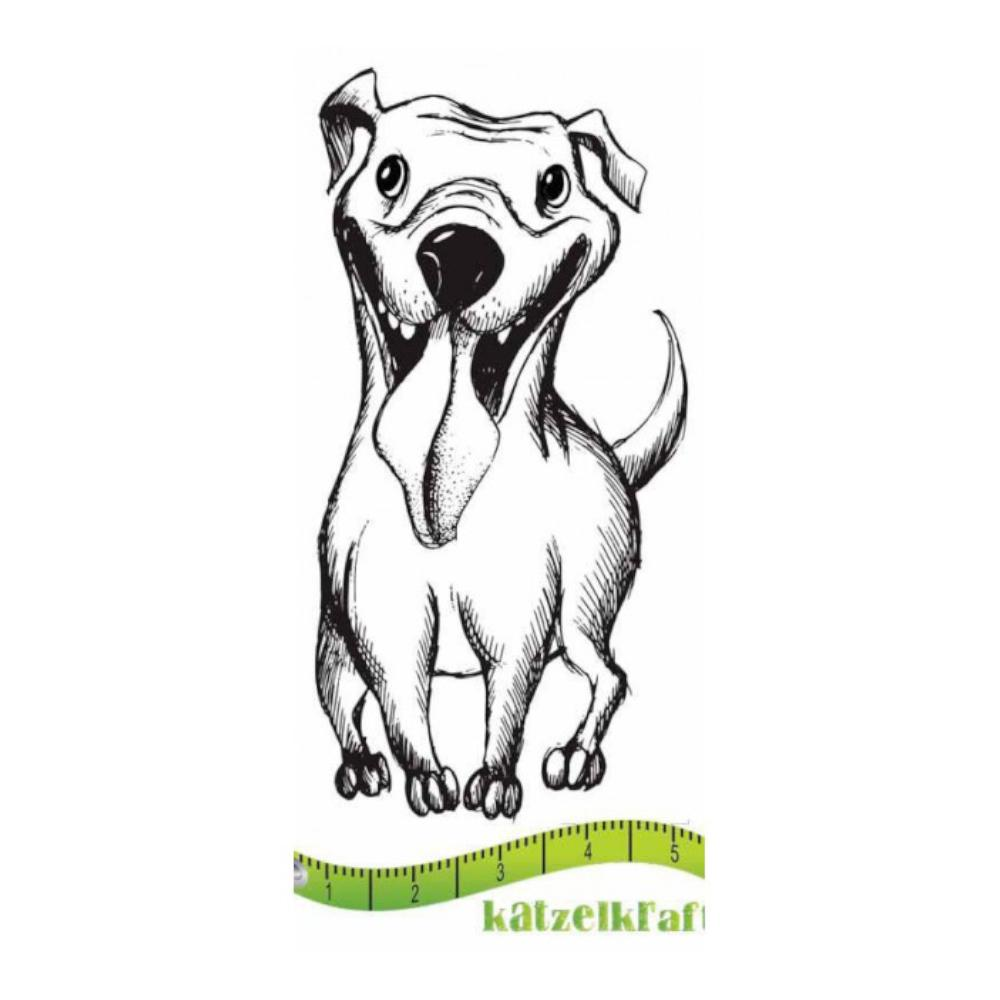 Katzelkraft - Rubber stamp dog Bonzy