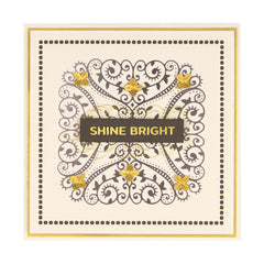 Spellbinders - Glimmer Hot Foil - Glimmer Plate - Fanciful Corners