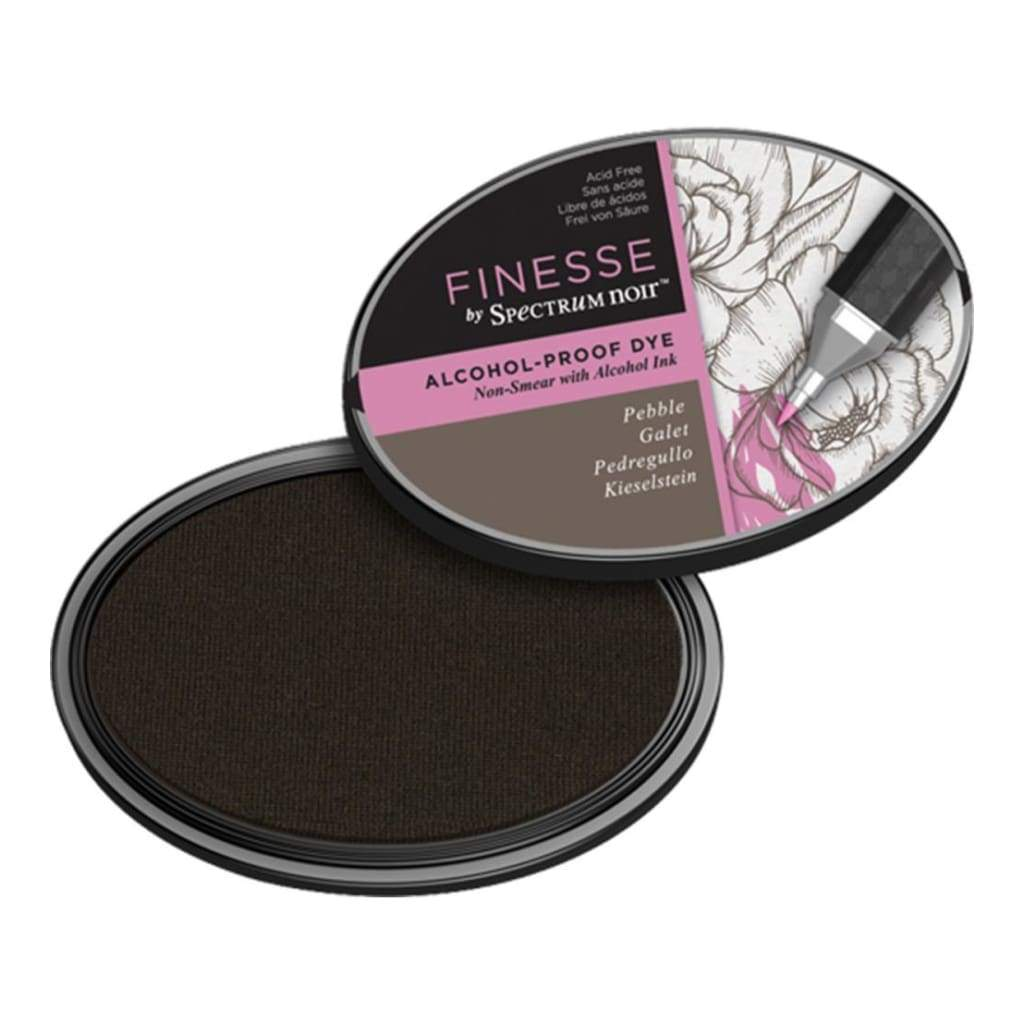 Spectrum Noir Finesse Alcohol Proof Ink Pad - Pebble