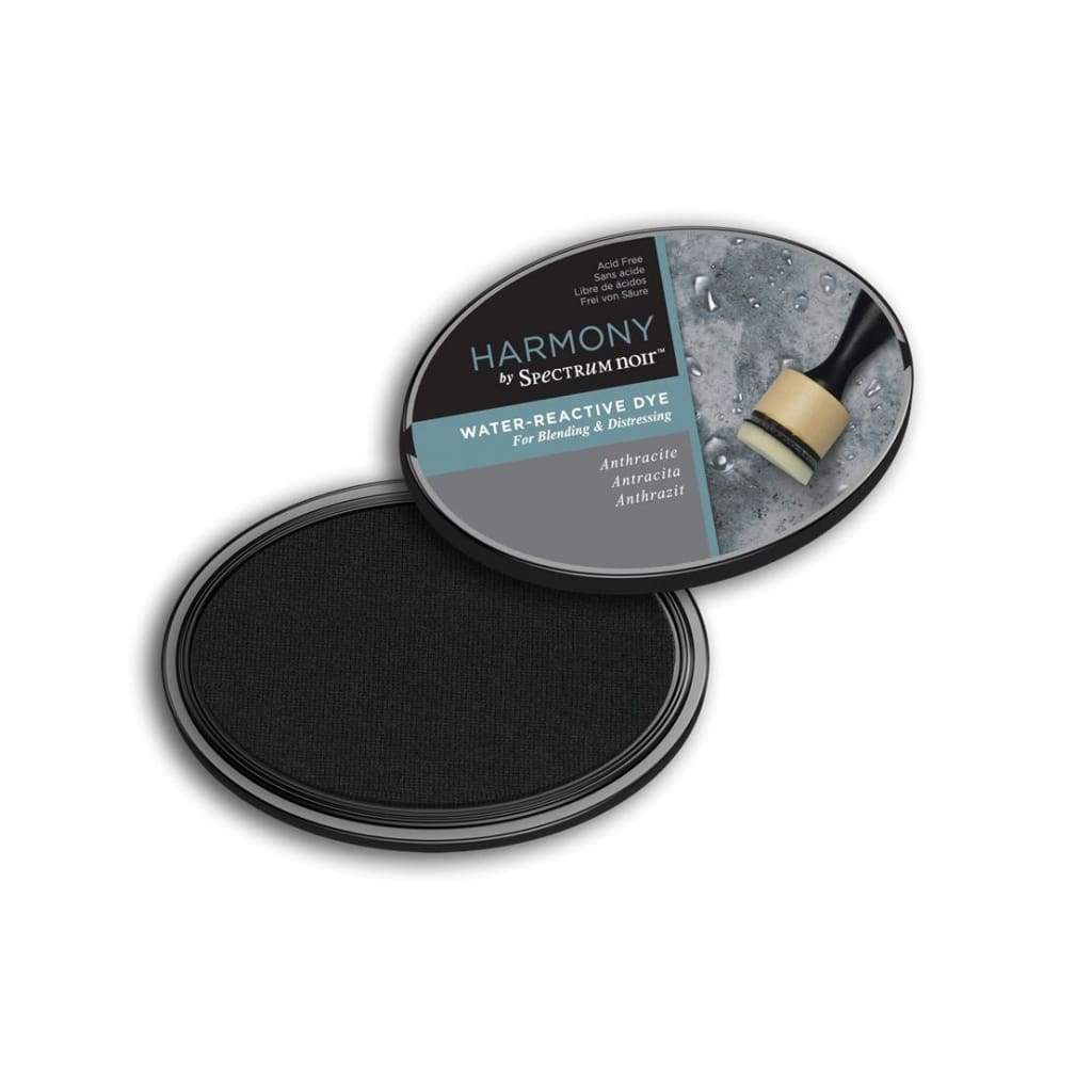 Spectrum Noir Harmony Water Reactive Ink Pad - Anthracite