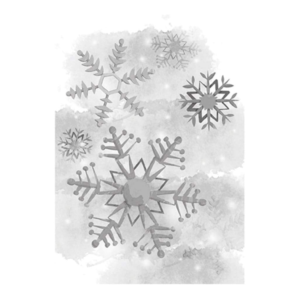 Spellbinders 3D Cling Stamp 2.75 inch X4 inch Cold Spell