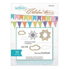 Spellbinders - Celebrations Dies With Stamps- Sunny Days