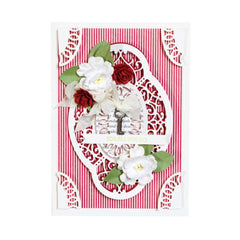 Spellbinders Chantilly Paper Lace By Becca Feeken Hannah Elise Layering Frame