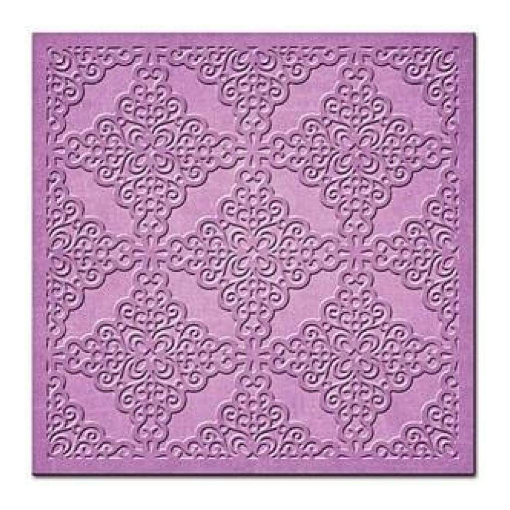 Spellbinders Nestabilities 6Inch X6inch  Card Creator Dies Lace And Frills