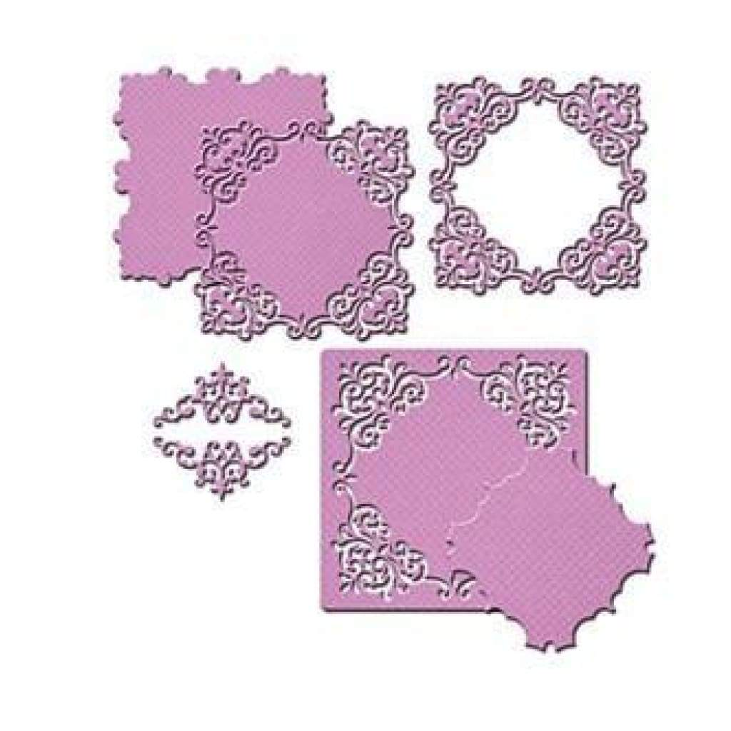 Spellbinders Nestabilities Decorative Elements Dies Reverent Square