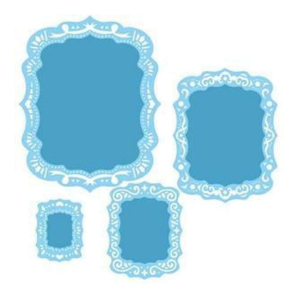 Spellbinders Nestabilities Dies Labels 39 Decorative Elements