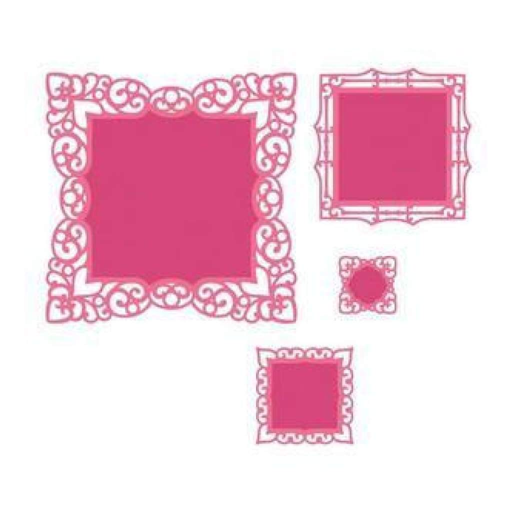 Spellbinders Nestabilities Dies Labels 42 Decorative Accents