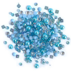 Buttons Galore - Sparkletz Embellishment Pack 10g - Ocean Waves