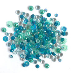 Buttons Galore - Sparkletz Embellishment Pack 10g - Sea Level