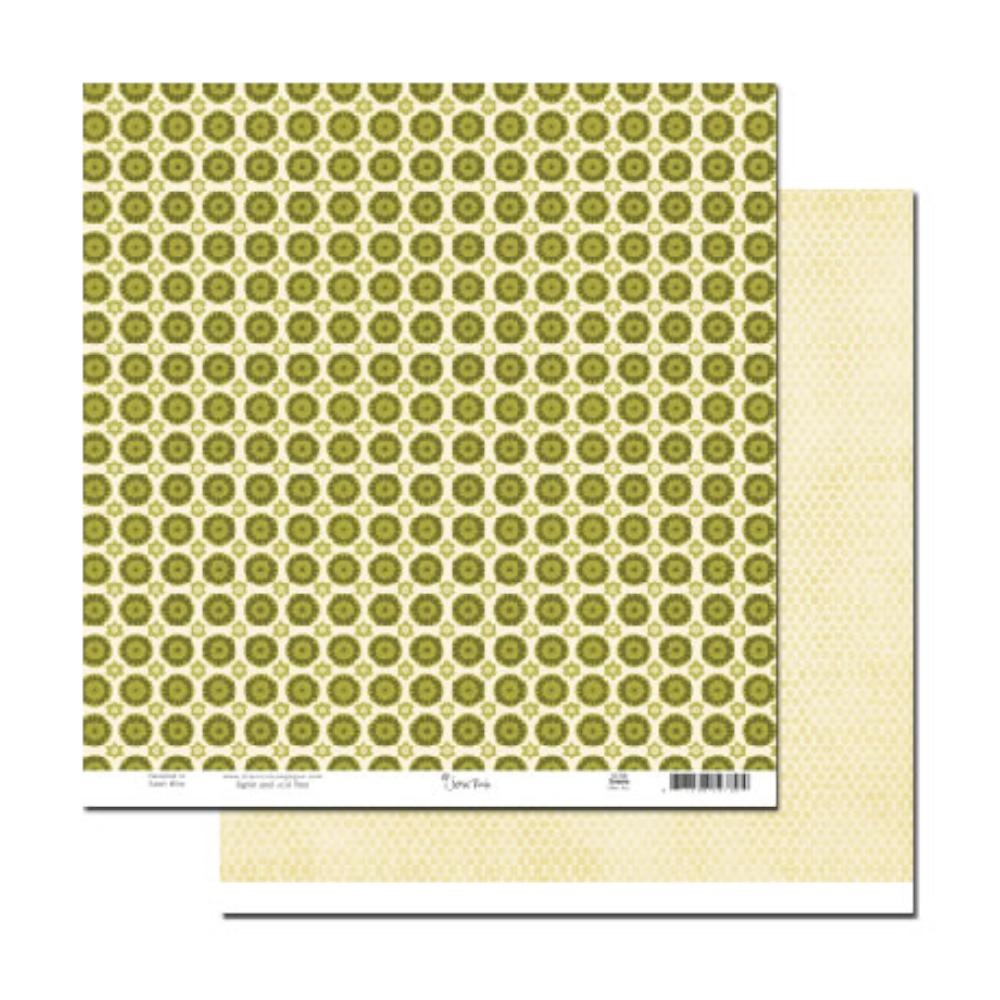 Scenic Route Paper - Sonoma Olive Avenue 12x12 d/sided cardstock