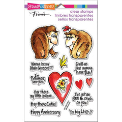 Stampendous Perfectly Clear Stamps Gorilla Love