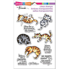 Stampendous Perfectly Clear Stamps Kitty Therapy