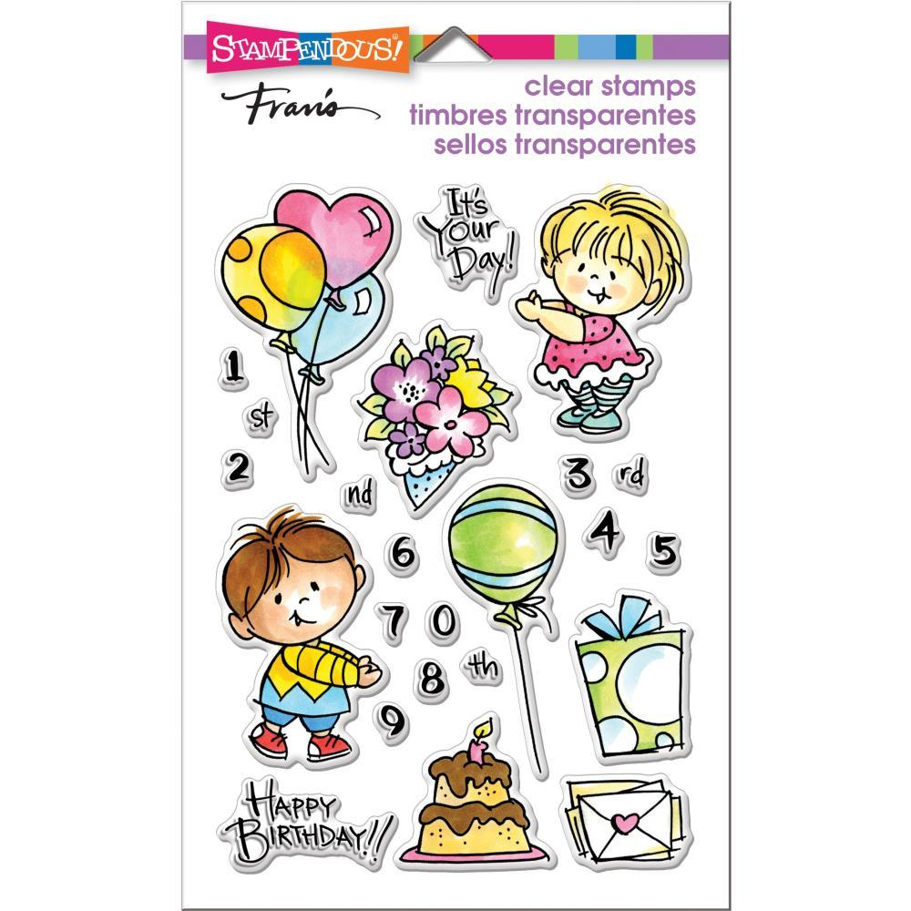 Stampendous Perfectly Clear Stamps - Birthday Kids