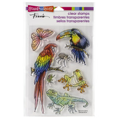Stampendous Perfectly Clear Stamps Jungle Life