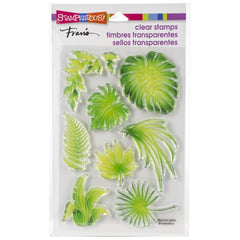 Stampendous Perfectly Clear Stamps Jungle Greenery