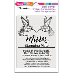 Stampendous - Mirror Stamping Plate 4 inch X5.5 inch