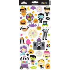Doodlebug - Cardstock Stickers 6 inchX13 inch - Candy Carnival