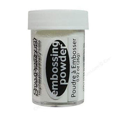 Stampendous Detail Embossing Powder .5Oz White Opaque