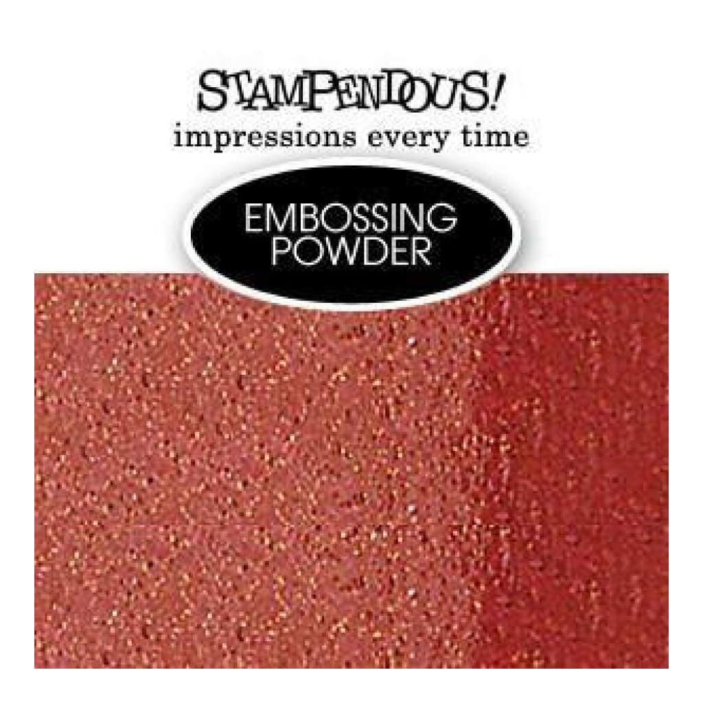 Stampendous Embossing Powder .6Oz - Glitter Mix Red Dragon