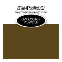 Stampendous Embossing Powder .6Oz - Pirate Gold Opaque