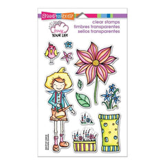 Stampendous Perfectly Clear Stamps 4X6 Whisper Garden