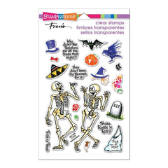 Stampendous Perfectly Clear Stamps Skeleton Humour