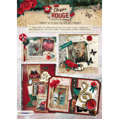Studio Light Classic Rouge Die-Cut Card Toppers 12 pack - No. 78