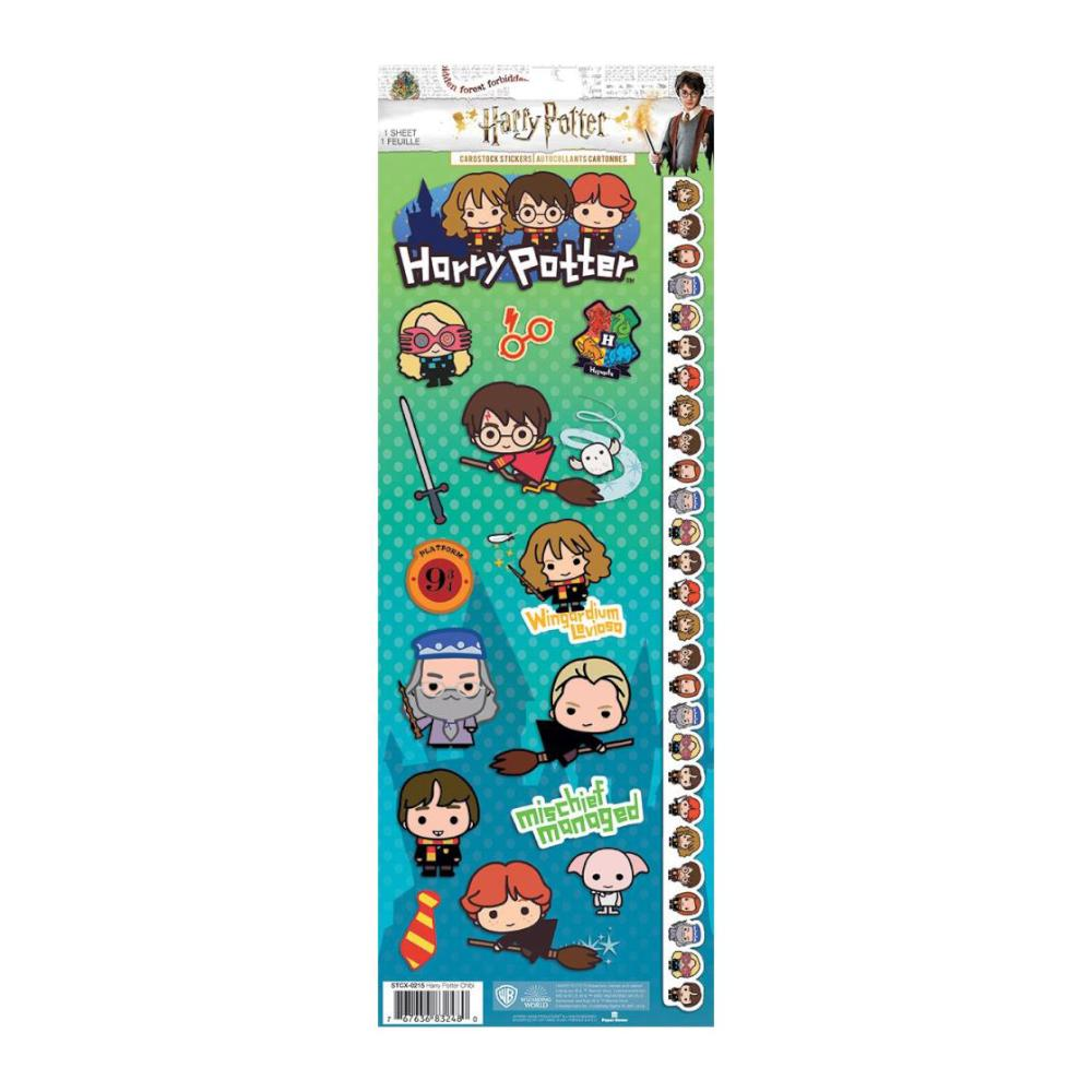 Paper House - Cardstock Stickers 4.625X13in - Harry Potter Characters