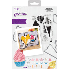 Crafters Companion Gemini Layering Stamps & Dies - Sweet Treats