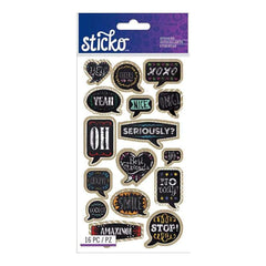 Sticko Classic Stickers Chalk Quotes