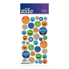 Sticko Classic Stickers Smiley Face Characters