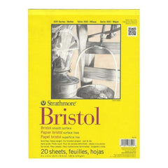 Strathmore Bristol Paper Pad 9X12 Inch - 270Gsm (20 Sheets)